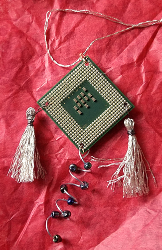 Techie ornament 1