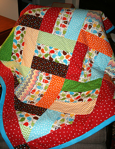 Baby Quilt Front Wesley