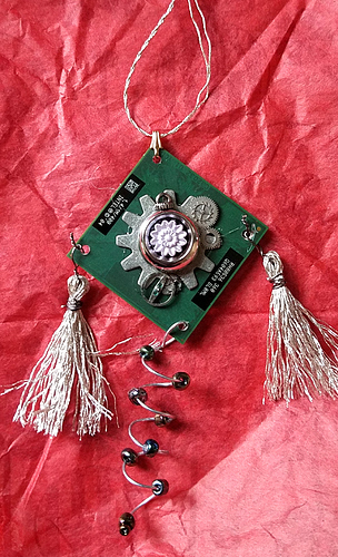 Techie ornament 2