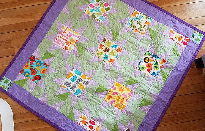Baby Quilt Piper
