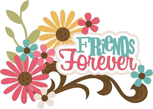 Friend Forever Clipart